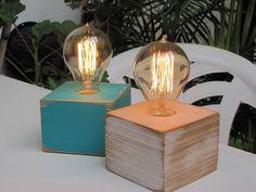 velador lampara cubo escritorio mas lampara vintage anttque
