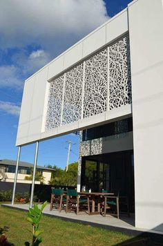 The Decorative Screens Direct Gallery showcases many of the laser cut screen projects we have completed over the years. Laser Cut Screens, Laser Cut Panels, Laser Cut Metal, Wood Cladding, Exterior Cladding, Jaali Design, Metal Wall Panel, Metal Facade, Decorative Screens