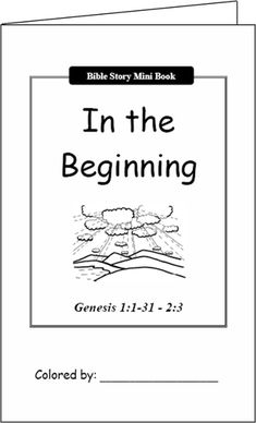 Awesome resource to go with Route52 Bible lessons.  LOVE the Bible Story Mini-books for the kids to color & read & the activities.