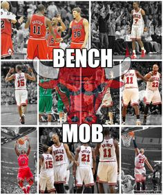 bench mob! we miss you but we got nate robinson! woot!