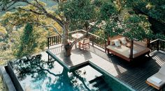 What a place to while away the day! Como Shambhala Estate / bali