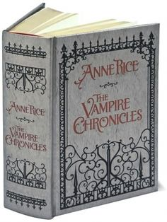 The Vampire Chronicles: Interview with a Vampire, The Vampire Lestat, and The Queen of the Damned (Barnes & Noble Leatherbound Classics Series) I bought this. Can't have an Anne Rice Vampire collection without this fab book! Anne Rice Vampire Chronicles, Queen Of The Damned, Interview With The Vampire, Vampire Books, Vampire Series, Vampire Pics, Book Nooks, I Love Books, Book Authors