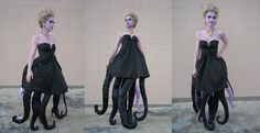 DIY Ursula the Sea Witch costume cosplay