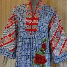 Blouse Batik, Batik Dress, Kimono, Batik Kebaya, Batik Fashion, New Fashion, Womens Fashion, African Dress, Ikat