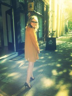 This mustard yellow dress for the win.