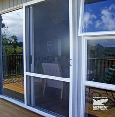 Slide Insect Door with newly positioned vision rail 2014