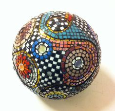 mosaic ball- mostly squares