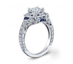 Saturn Jewels Diamond Engagement Ring AD266
