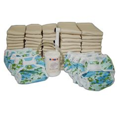 Basic Prefold Diaper Package