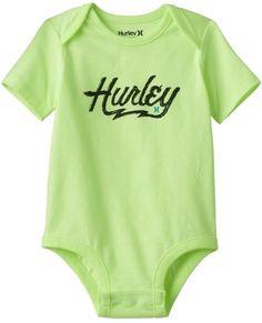Hurley Baby Boy Logo Graphic Bodysuit