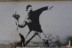 Saw Banksy exhibition in Bristol, great