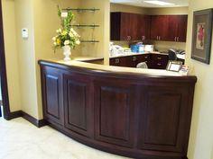 Custom Made Reception Area