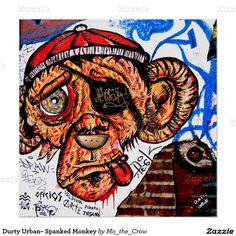 Durty Urban~ Spanked Monkey Poster