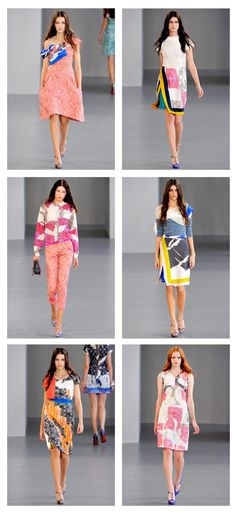 Michael van der Ham- <3 the entire spring 2012 line of mixed prints!