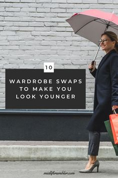 10 Wardrobe Swaps to Make You Look Younger - You can dress younger over 40 by swapping out these items in your wardrobe that are aging you for clothes that enhance your looks and help you look younger. Summer Outfits Women Over 40, Fashion For Women Over 40, 60 Fashion, Fashion Tips, Look Older, Look Younger, Fashion Bloggers Over 40, Middle Age Fashion, Middle Aged Women