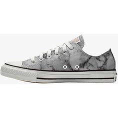 Converse Custom Chuck Taylor All Star Marble Low Top Shoe. Nike.com (3,705 DOP) ❤ liked on Polyvore featuring shoes, low profile shoes, star shoes and low top