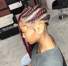 21 Stunning Beyonce Lemonade Braids Hairstyles To Be In Style 2019 Braided Hairstyles For Black Women, African Braids Hairstyles, Elegant Hairstyles, Cute Hairstyles, Braid Hairstyles, Black Girl Braids, Girls Braids, Natural Braids, Natural Hair Styles