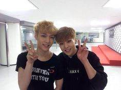 [OTHERS] 150308 좋은세상만들기's Facebook update: LAY & XIUMIN