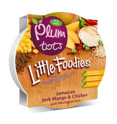Plum Tots Little Foodies. A delicious and nutritious meal for toddlers, an eye candy for adults.