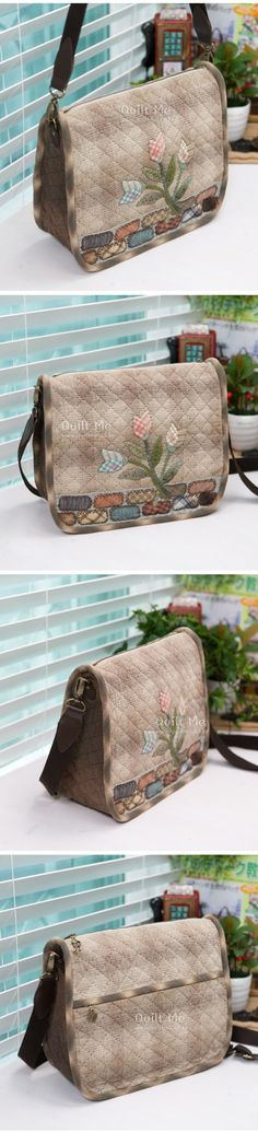 水乡薇安_新浪博客 Mk Handbags, Cute Handbags, Purses And Handbags, Patchwork Bags, Quilted Bag, Clutch Bag, Crossbody Bag, Japanese Bag, Place Mats Quilted