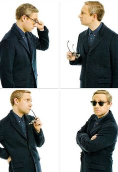 Martin for Glamour. I don't really know which one of these pictures I like best.