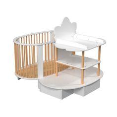 1000 images about berceau cradle crib on pinterest for Berceau table a langer