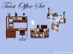 plus10dolansu's Twist Office Set