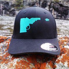 207b188a636 BANANA ink Idaho Gun Hat by BANANAinkShop on Etsy