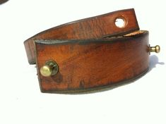 Father's day gift Vintage Brown Leather Bracelet от ISHAOR