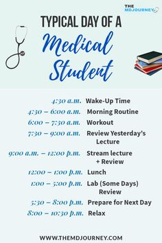 Free Med School Study Guide - TheMDJourney What is the typical schedule of a pre-clinical student? Let's take a look on my schedule when I was a medical student. Study Motivation Quotes, Student Motivation, Med Student, Student Gifts, Medical Students, Nursing Students, Nursing Student Quotes, Medical Quotes, Medical Advice
