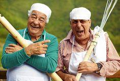 Antonio Carluccio and Genarro Contaldo AKA the Two Greedy Italians. Italian food, joy and passion. Belissimo! x