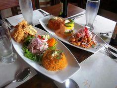 Peruvian Food - nice presentation