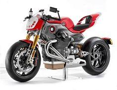 Moto Guzzi V12 Le Mans, concept bike, unfortunately