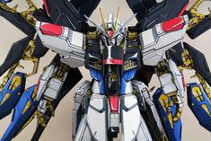 GUNDAM GUY: PG 1/60 Strike Freedom Gundam [ANIME STYLE] - Painted Build