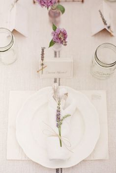 Lavender Wedding Decor Ideas Youll Totally Love ❤ See more: http://www.weddingforward.com/lavender-wedding-decor-ideas/ #weddings