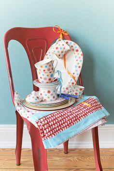 Van dit servies wordt je pas echt vrolijk! (Lina, Villeroy & Boch).