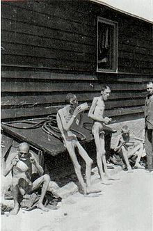 Mauthausen-Gusen concentration camp - Wikipedia, some survivors shortly after liberation. How are they alive?  Man's will to survive..incredible.