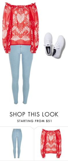 """""""Opposites"""" by nodemurelife ❤ liked on Polyvore featuring River Island, Alice McCall and Keds"""