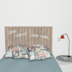 Bed border, wall sticker border for decorating your bed.