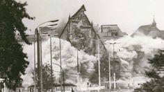Kein Platz für Gott im Sozialismus: Die Leipziger Universitätskirche wurde 1968 gesprengt.