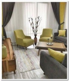 44 cozy small living room decor ideas for your apartment 00053 Living Room Decor Curtains, Living Room Sofa Design, Living Room Decor Cozy, Home Decor Bedroom, Home Living Room, Interior Design Living Room, Living Room Designs, Kitchen Interior, Classy Living Room