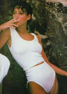 Christy Turlington by Arthur Elgort 1986