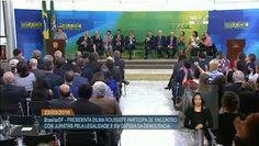 Pregopontocom Tudo: Juristas fazem ato em defesa de Dilma e contra o impeachment...