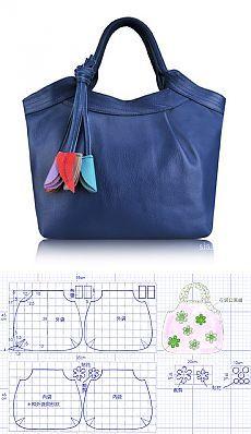 48 Ideas For Diy Bag Pattern Leather Inspiration Handbag Patterns, Bag Patterns To Sew, Patchwork Bags, Quilted Bag, Denim Patchwork, Bag Quilt, Diy Handbag, Denim Bag, Fabric Bags