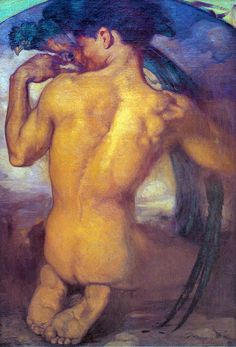 El Quetzal. 1916 Saturnino Herrán Saturnino Herrán Guinchard was a Mexican painter. His mother's name was Josefa Guinchard. In 1897 he took private drawing lessons in his native city and in 1901 entered the Aguascalientes Academy of Science