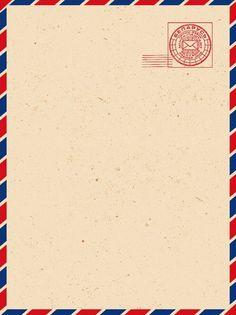 Pure Retro Texture Yellow Envelope Background