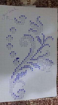 Cross Stitch Borders, Cross Stitch Rose, Cross Stitch Flowers, Cross Stitch Designs, Cross Stitch Patterns, Knitting Patterns, Crochet Patterns, Needlepoint Stitches, Embroidery Stitches