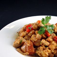 One Perfect Bite: Crock-Pot Moroccan Chickpea and Chicken Stew