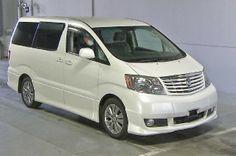 Japanese vehicles to the world: 2004 Toyota Alphard MS Premium Alcantara for Tonga...