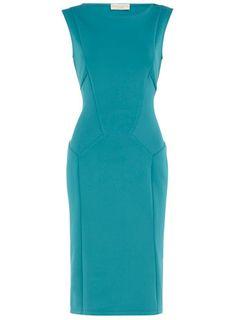 Aqua back cutout dress, $29